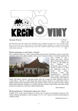 ZDE - ZŠ Krčín