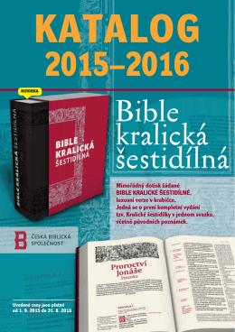 Stáhnout katalog... - Česká biblická společnost