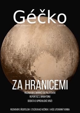 Géčko 1/2015-16 - Gymnázium Kroměříž