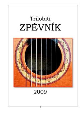 Zpěvník - Trilobit