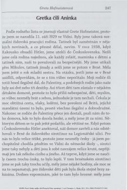 ukázka z knihy Zámky naděje od Pavla Kohna