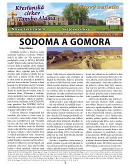 SODOMA A GOMORA, Svazek 21200