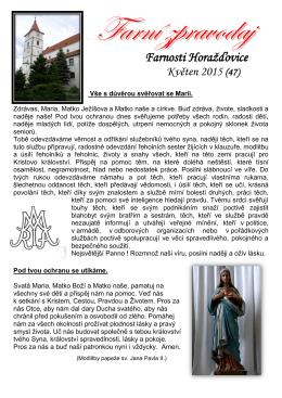 č.47 - Oblastní charita Horažďovice