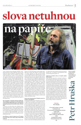 Literární noviny, 7. 4. 2011, strana 5