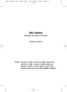 Ukázka knihy - Miroslav Hrabica