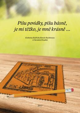 Sborníček Píšu povídky - Knihovna Bedřicha Beneše Buchlovana
