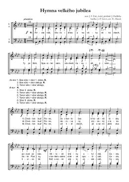 Hymna velkého jubilea