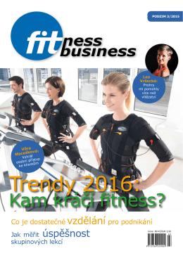 Trendy 2016: - FitnessBusiness.cz