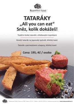 sněz kolik dokážeš! - RestauraceLetna.cz
