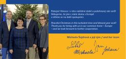 Michaela Šojdrová a její tým / and her team