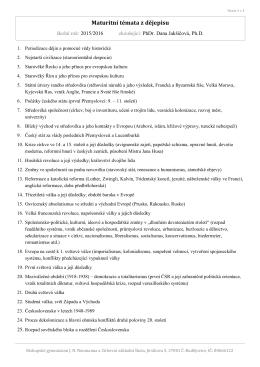 PhDr. Dana Jakšičová - Biskupské gymnázium J. N. Neumanna a