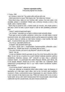 Francouzský legionář – 1. místo PDF