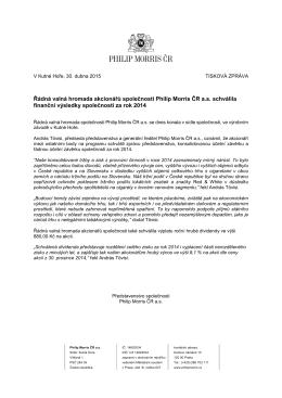 Výsledky řádné valné hromady PMČR 2015PDF 276kb