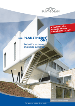 sgg PLANITHERM® ONE