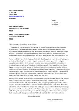 Celý dopis - izdravi.info