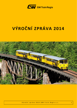 VÁŠ DOPIS ZN - GW Train Regio as