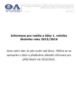 VÁŠ DOPIS ZNAČKY/ZE DNE