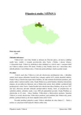 Případová studie - Višňová (PDF 626 kB)