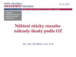 JUDr. FILIP MELZER, Ph.D., LL.M.