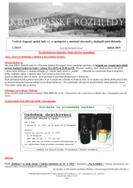 Krompašské rozhledy č.04_2015 - Sdružení pro Krompach os
