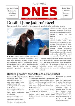 Svatební noviny ke stažení