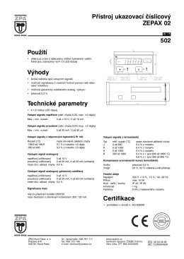 1) Katalogový list 502