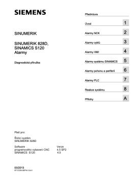 Diagnostická příručka - Siemens Industry Online Support Portals