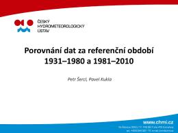 03 Porovnání údajů 1931-1980 1981-2010