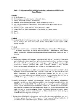 Zápis z VH 1.6.2015