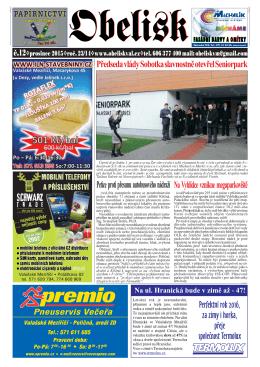 Předseda vlády Sobotka slavnostně otevřel Seniorpark