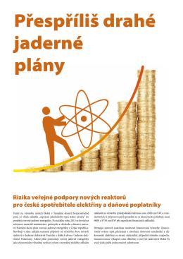 Přespříliš drahé jaderné plány
