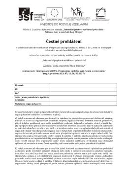 PR2 ČP o splnění základních kvalifikačních předpokladů
