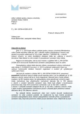 Č. j. MV- 25784-4/ODK-2015