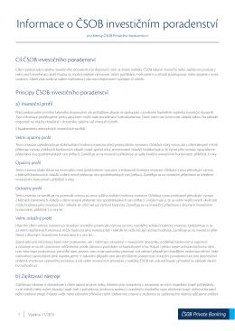 pdfInformace o investičním poradenství