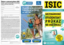 žádost o ISIC