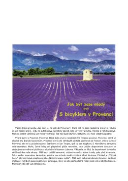 Provence na kole 2015