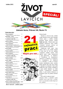 2014_2015 speciál - Základní škola, Příbram VIII, Školní 75
