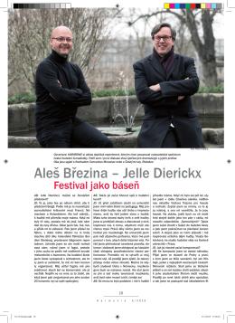 Aleš Březina – Jelle Dierickx