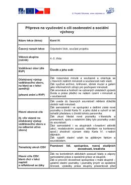 Materiály - Odyssea.cz