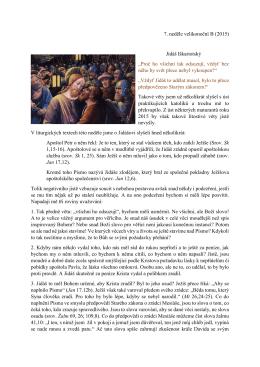 Křivdí církev Jidášovi aneb trocha světla na pravou povahu poch