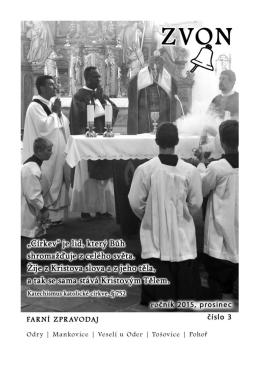 Zvon prosinec 2015 - Římskokatolická farnost Odry