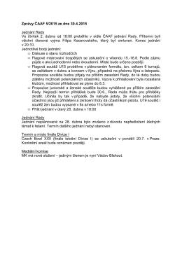Zprávy ČAAF 2015-5