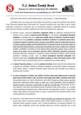 Dopis členům 24-8-2015