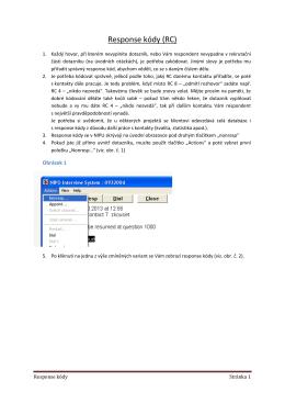 Response kódy (RC)