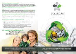 Collegas Profil Spoločnosti_420x297_mm_1