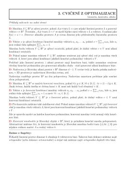 příklady a definice