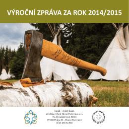 Výroční Zpráva 2015 - 27. Středisko `OHEŇ`