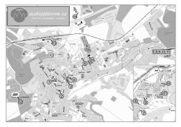 černobílou verzi mapy
