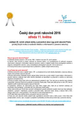 Český den proti rakovině 2008 (12