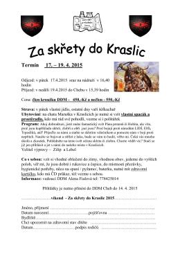 Letáček s přihláškou ve formátu pdf.